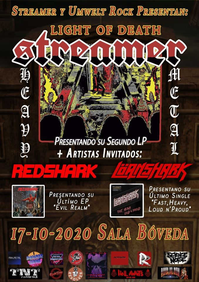 streamer + redshark + loanshark