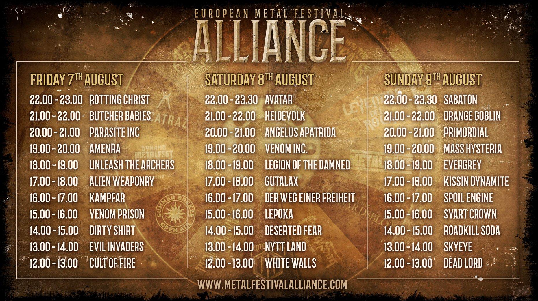 metal alliance festival