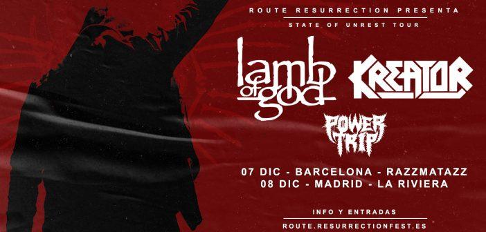 Lamb of God / Kreator
