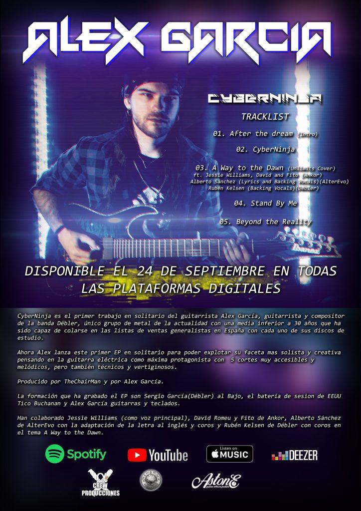 AlexGarcía Cyberninja-Promo