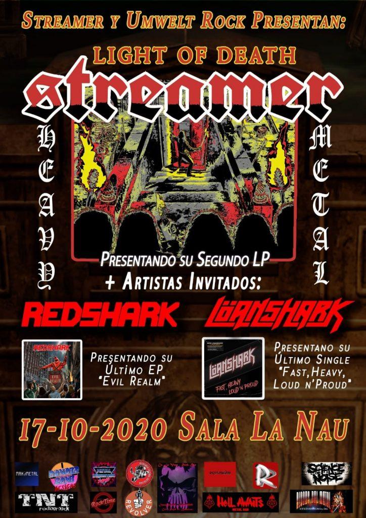 streamer + redshark + loanshark nuevo
