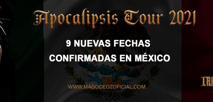 Nuevas fechas confirmadas en México para la gira de Mägo de Oz