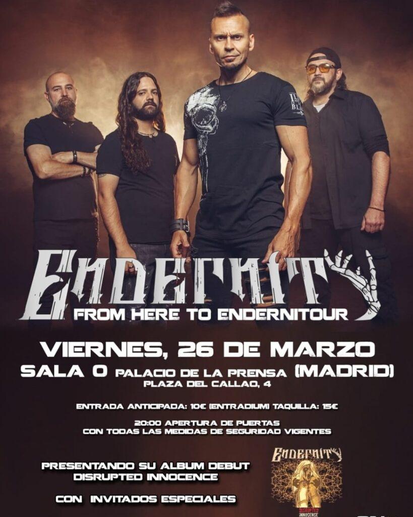 Endernity Presentacion del disco en Madrid